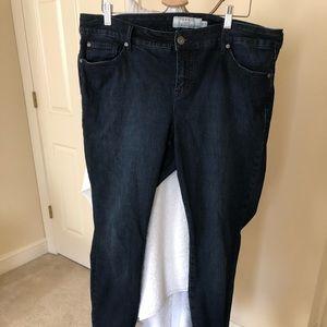 Tortured Vintage Fit jeans.